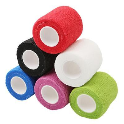 Cohesive Sports Self Adhesive Athletic Support Bandage Strap Tape 5cm B