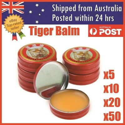 Tiger Balm Muscle Ache Headache Flu Pain Relief Qingliangyou Massage Ointment