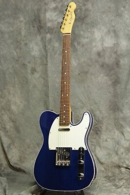 NEW Fender Exclusive Classic 60s Telecaster Custom Trans Blue Electric Guitar