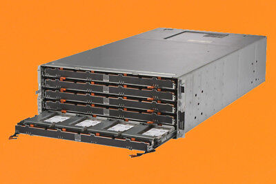 DELL POWERVAULT MD3060E 60 BAY STORAGE ENCLOSURE - 10x 1TB 7.2K 12GBPS SAS HDD