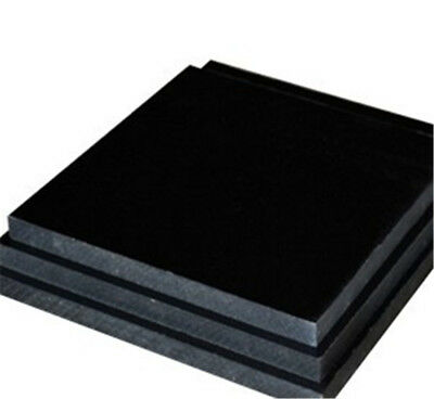 1pcs Bakelite Phenolic Flat Plate Sheet 300 mm x 300mm x 5mm Black For CNC