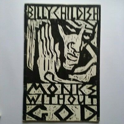 billy childish Monks without God Hangman books 1986 signed