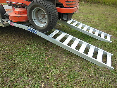 Mower Loading Ramps 2.3 metres long x 390mm wide 1 tonne capacity