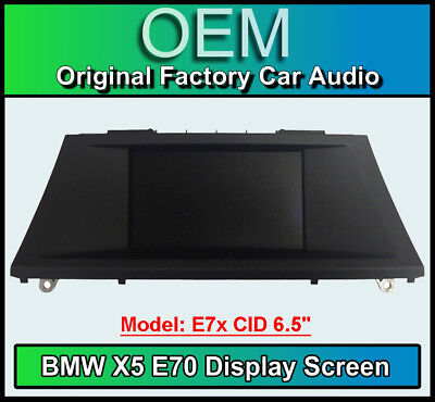 "BMW X5 Satellite Navigation display screen, BMW E70, CID 6.5"", LCI screen"