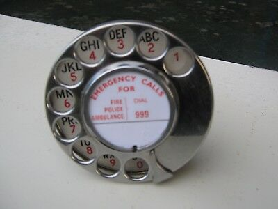 Alpha/numeric Ex Gpo Dial No.12 For Bakelite Phone.200/300 Series (Working)V.g.c