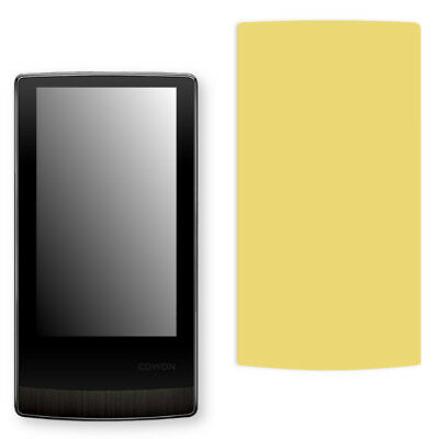 Golebo Screen Film for Privacy protection yellow for Cowon J3
