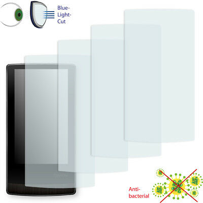 4x DISAGU ClearScreen screen protection film for Cowon J3 antibacterial