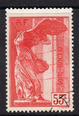 France 55 Cent Museums Stamp c1937 Fine Used