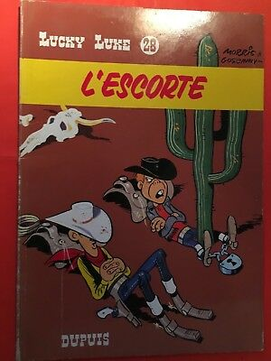 LUCKY LUKE No28/DUPUIS 77/L ESCORTE