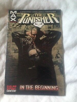 Punisher Mavel Max Graphic Novel Vol 1  : in the beginning