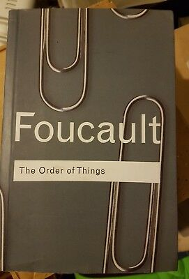 The Order of Things: Archaeology of the Human Sciences Book By Michel Foucault
