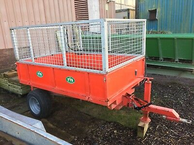 Compact Tractor 6x4 Tipping Trailer