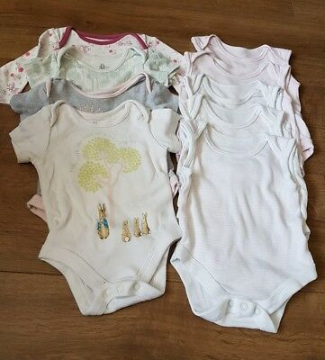 baby girl vests 0-3mths