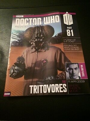 Dr Who Figurine Collection 81 Tritovores Magazine Only Doctor Who