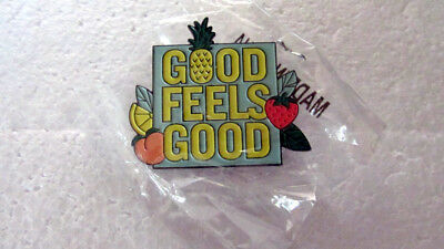 Starbucks 2017 Teavana Good Feels Good Pin New In Package