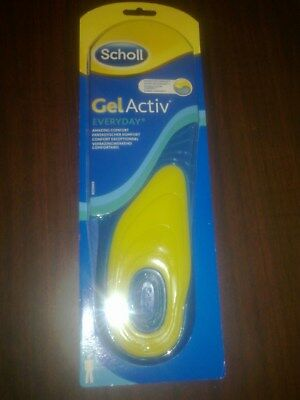 Scholl Gel Activ Insoles Mens SHOE SIZE UK 7 TO 12