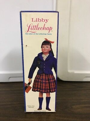 Vintage Remco Libby Littlechap Doll In Box