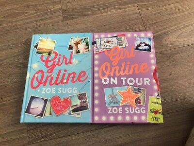 Girl Online & Girl Online On Tour Book - By Zoe Sugg