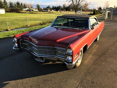 1966 Cadillac Eldorado  1966 Cadillac Eldorado Convertible, Top Of The Line, Rare Bucket Seats