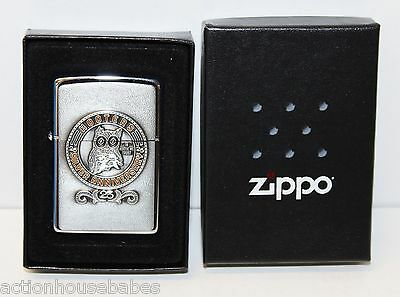 Rare HOOTERS 25th SILVER ANNIVERSARY In Hootie We Trust ZIPPO LIGHTER -Brand New