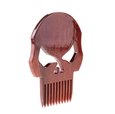 Punisher Skull Marvel Comics High Gloss Beard Comb | Super Strong Coating