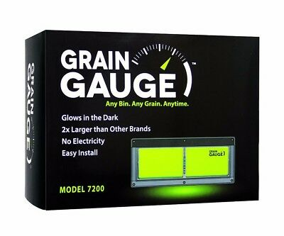 Grain Gauge Bin Level Monitor.  Read Bin Level from the ground