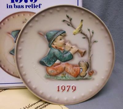 Hummel 1979 Annual Plate Singing  Lesson  New In Box