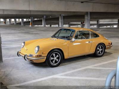 1968 Porsche 912  Great Entry-Level Driver - Gorgeous Bahama Yellow Painting.