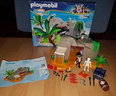 Playmobil 4797 Super 4 Piraten Höhle in OVP + Anleitung