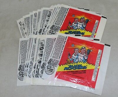 Star Wars 1979 Topps Cards Buck Rogers Wrappers Lot