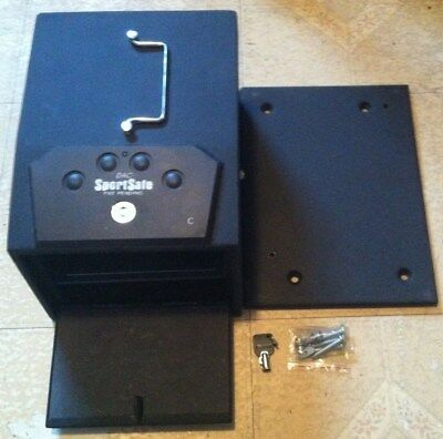 Dac Sportsafe Safety Gun/pistol Vault/safe, Portable/mountable Vault, Heavy Duty