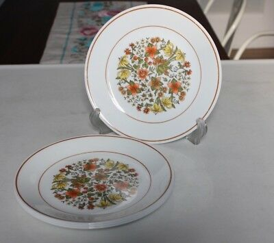"Corelle Corning Ware Indian Summer 8 1/2"" Luncheon Salad Plates - Set of 4"