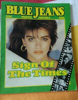 BLUE JEANS PHOTO NOVEL - ISSUE 334 - Sign of the Times