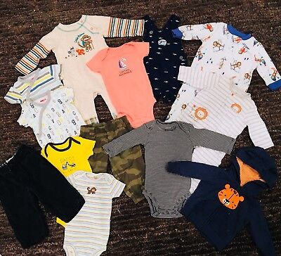 Lot Of 6 Month Baby Boy Clothes 6m