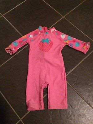 Girls Sun Swim Suit John Lewis 18-24 Months 1.5 - 2 Years
