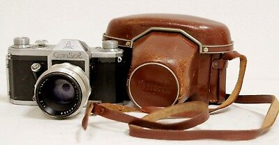 Vintage Pentacon ConSol 1:2/58mm Camera, In Original Case