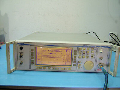 Marconi 2032 10KHz - 5.4GHz synthesized Signal Generator IFR S/N 038