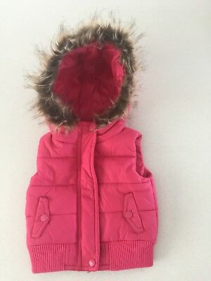 Country Road Baby Girls Vest Jacket Size 00