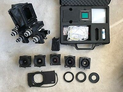 Complete Sinar P3 Kit, 5 lenses with Digital Back