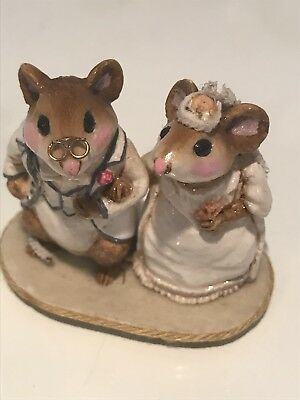 Wee Forest Folk, Bride & Groom, from 1978