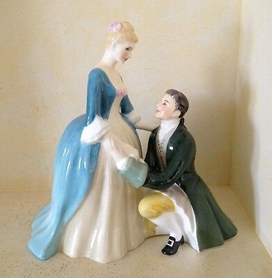 Royal Doulton Figurine The Suitor HN2132