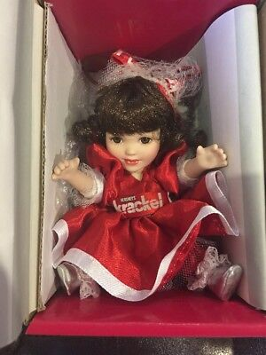 MIB Marie Osmond Doll KRACKEL HERSHEY'S MINIATURES CHRISTMAS ORNAMENT New In Box