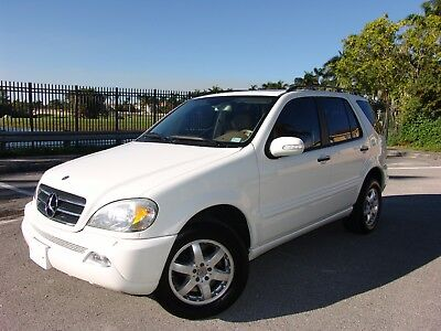 2002 Mercedes-Benz M-Class  2002 ML500 AWD  61K MILES ALL ORIGINAL ACCIDENT FREE NON SMOKER BOOKS AND 2 KEYS