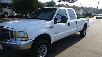 2002 Ford F-350 xlt 2002 ford f-350 4x4 4door long bed