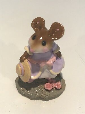 Wee Forest Folk, Little Lady Mouse with Hat