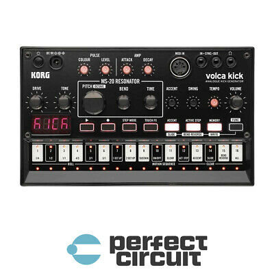 Korg Volca Kick MS-20 Resonator Drum Synth SYNTHESIZER - NEW - PERFECT CIRCUIT