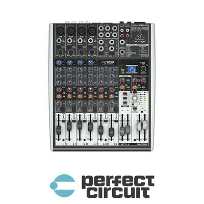 Behringer XENYX X1204USB 8 CH 4 Bus USB And FX MIXER - NEW - PERFECT CIRCUIT