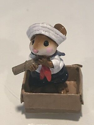 Wee Forest Folk, Sailor In Box
