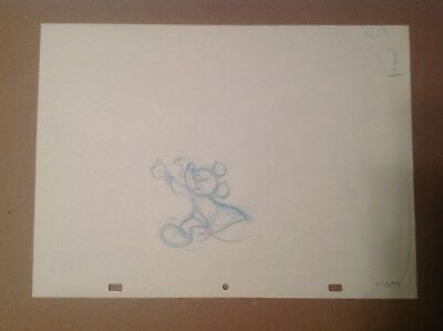 Disney Animation Production Drawings Of Mickey Mouse 7 Seq. Drawings