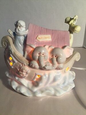 Baby Room Roman Inc. Porcelain Noah's Ark Night Light On/off Switch